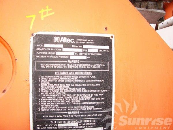 altec loose boom and utility bed 3107 rh sunriseequipment com Ezgo Wiring Diagram Delta Wiring Diagram