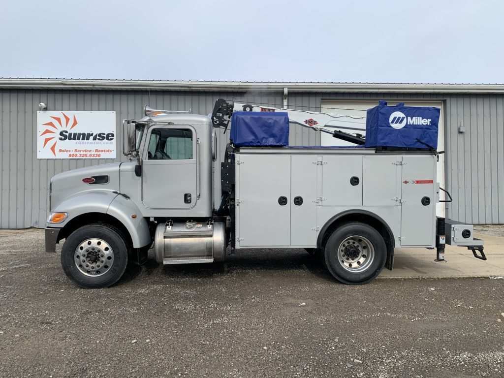 2019 PETERBILT PB337 SERVICE TRUCK WITH WELDER COMPRESSOR