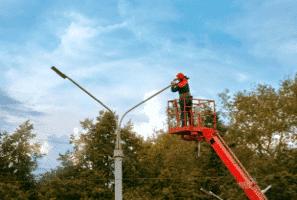 lighting-sign maintenance